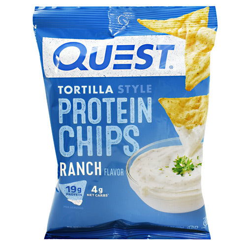 Quest Nutrition Protein Chips - Ranch - 8 ea - 30888849006640