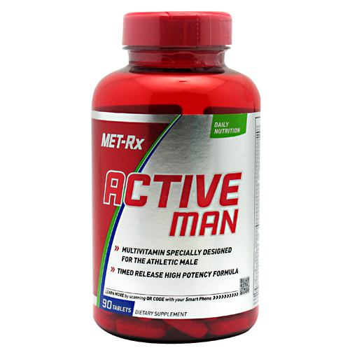 Met-Rx USA Active Man - 90 Tablets - 786560173025