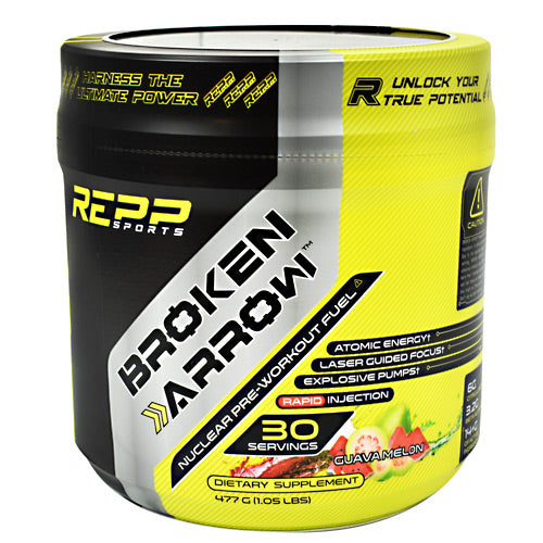 Repp Sports Broken Arrow - Guava Melon - 30 Servings - 851090006881