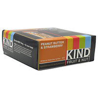 Kind Snacks Kind Fruit & Nut - Peanut Butter & Strawberry - 12 Bars - 602652171185