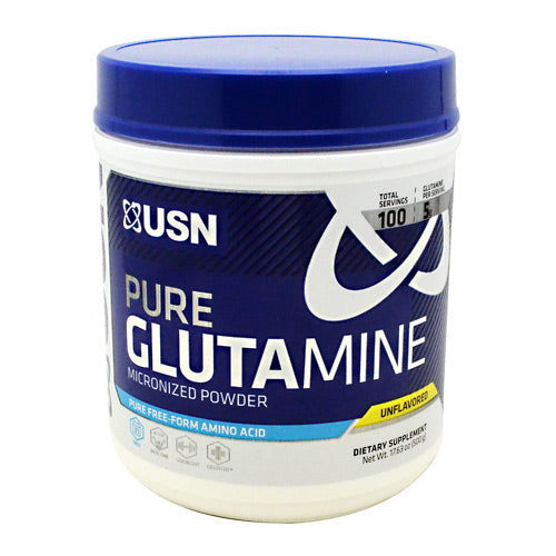 Usn Pure Glutamine - Unflavored - 100 Servings - 6009706090838