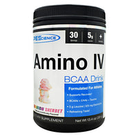 PEScience Amino IV - Rainbow Sherbet - 30 Servings - 040232661075