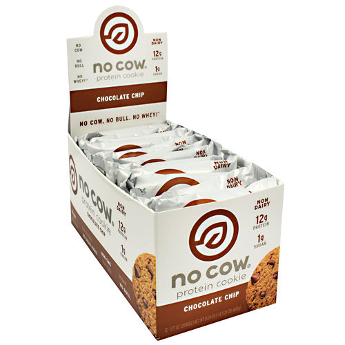 Ds Naturals No Cow Protein Cookie - Chocolate Chip - 12 ea - 852346005726