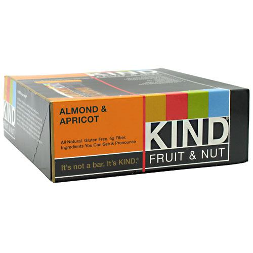 Kind Snacks Kind Fruit & Nut - Almond & Apricot - 12 Bars - 602652171253