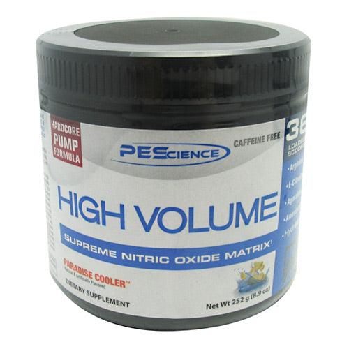 PEScience High Volume - Paradise Cooler - 18 Servings - 040232096457