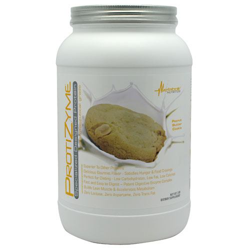 Metabolic Nutrition Protizyme - Peanut Butter Cookie - 2 lb - 764779621612