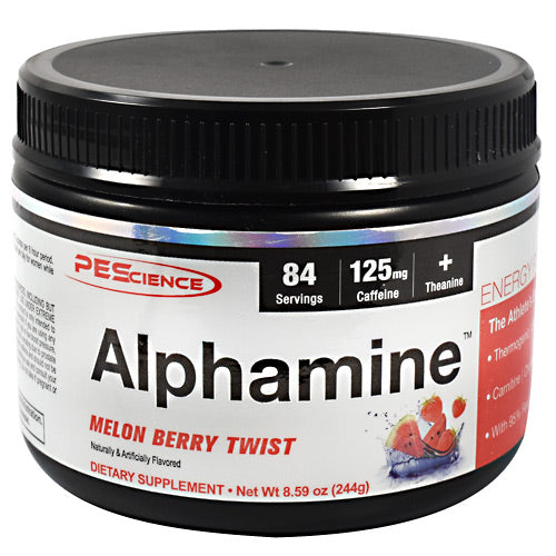 PEScience Alphamine - Melon Berry Twist - 84 Servings - 040232199288