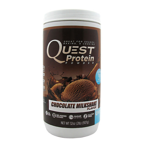 Quest Nutrition Quest Protein Powder - Chocolate Milkshake - 2 lb - 888849000517