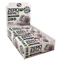 VPX Zero Impact Bar - Cookies & Cream - 12 Bars - 610764015105