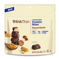 Think Products Think Thin Bites - Peanut Butter - 4.5 oz - 753656712246