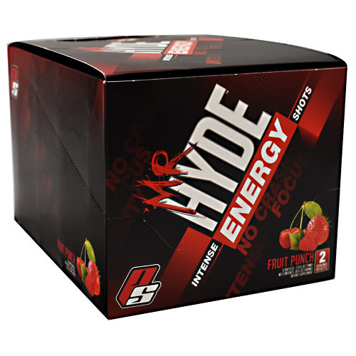 Pro Supps Mr. Hyde Energy - Fruit Punch - 24 Bottles - 10682055406999