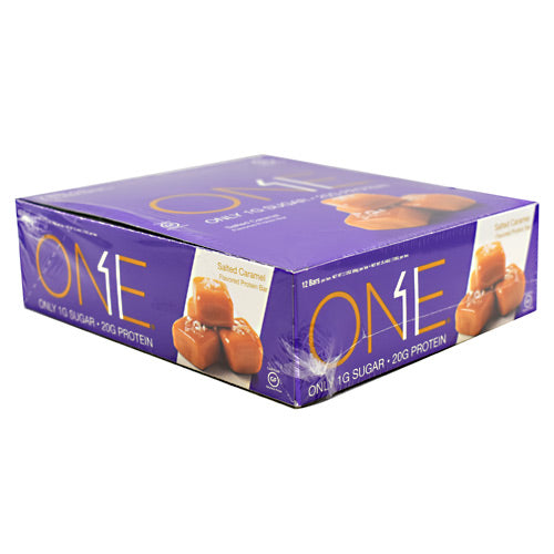 ISS Research One Bar - Salted Caramel - 12 Bars - 788434107440