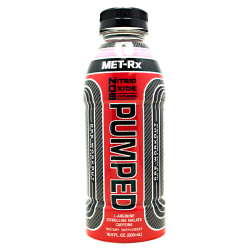 Met-Rx USA NOS PUMPED - Strawberry Lemonade - 12 Bottles - 10786560579305