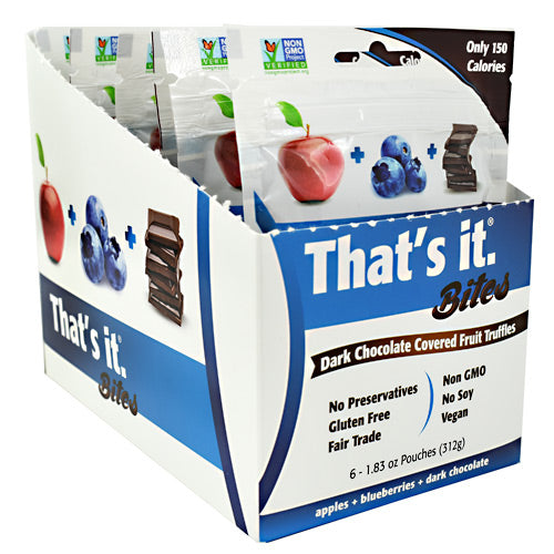 Thats It Nutrition Thats it Bites - Blueberry - 6 ea - 850397004736