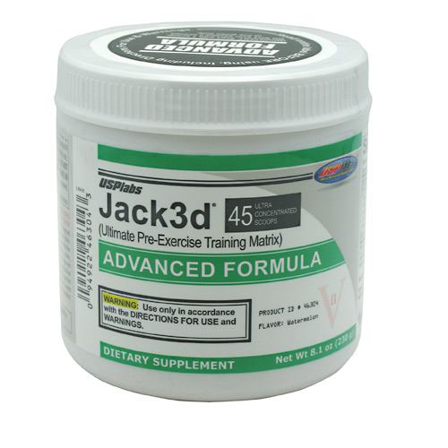USP Labs Jack3d Advanced - Watermelon - 45 Servings - 094922463043