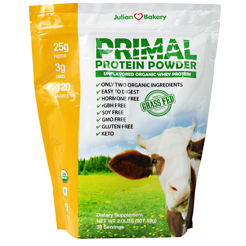 Julian Bakery Primal Protein - Unflavored - 30 Servings - 813926004287