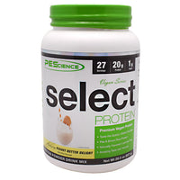 PEScience Vegan Series Select Protein - Peanut Butter Delight - 27 Servings - 040232426520