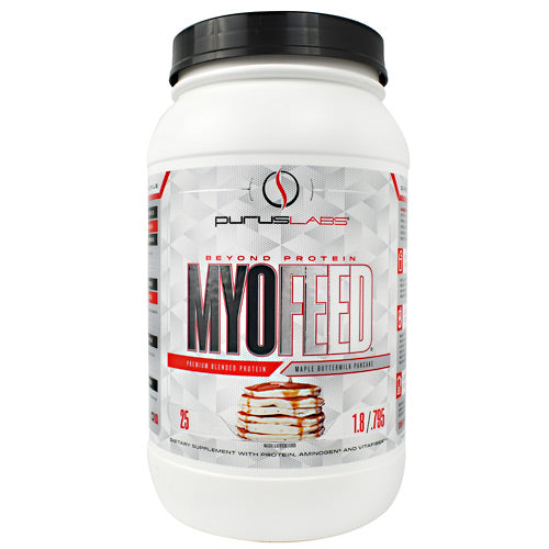 Purus Labs MyoFeed - Maple Buttermilk Pancake - 25 Servings - 855734002451