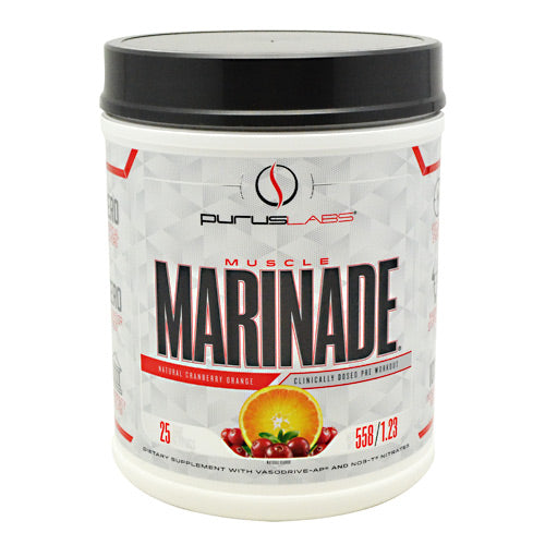 Purus Labs Muscle Marinade - Cranberry Orange - 25 Servings - 855734002628
