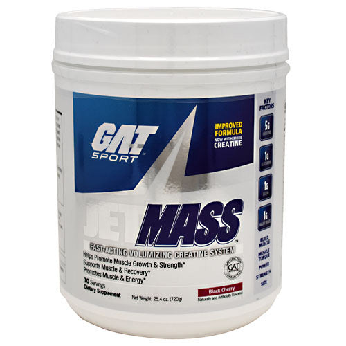 GAT JetMASS - Black Cherry - 30 Servings - 816170020973