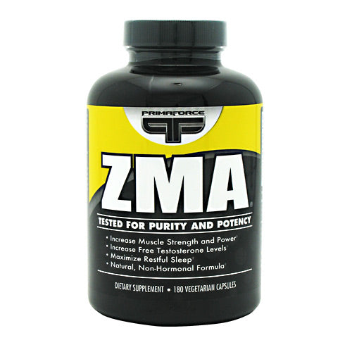 Primaforce ZMA - 180 Capsules - 811445020405
