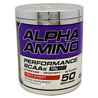 Cellucor Chrome Series Alpha Amino - Fruit Punch - 50 Servings - 810390028368