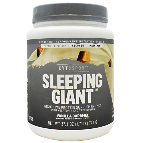 Cytosport Sleeping Giant - Vanilla Caramel - 18 Servings - 660726791417