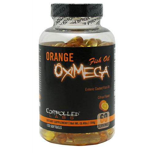 Controlled Labs Orange OxiMega - Citrus - 120 Softgels - 895328001699