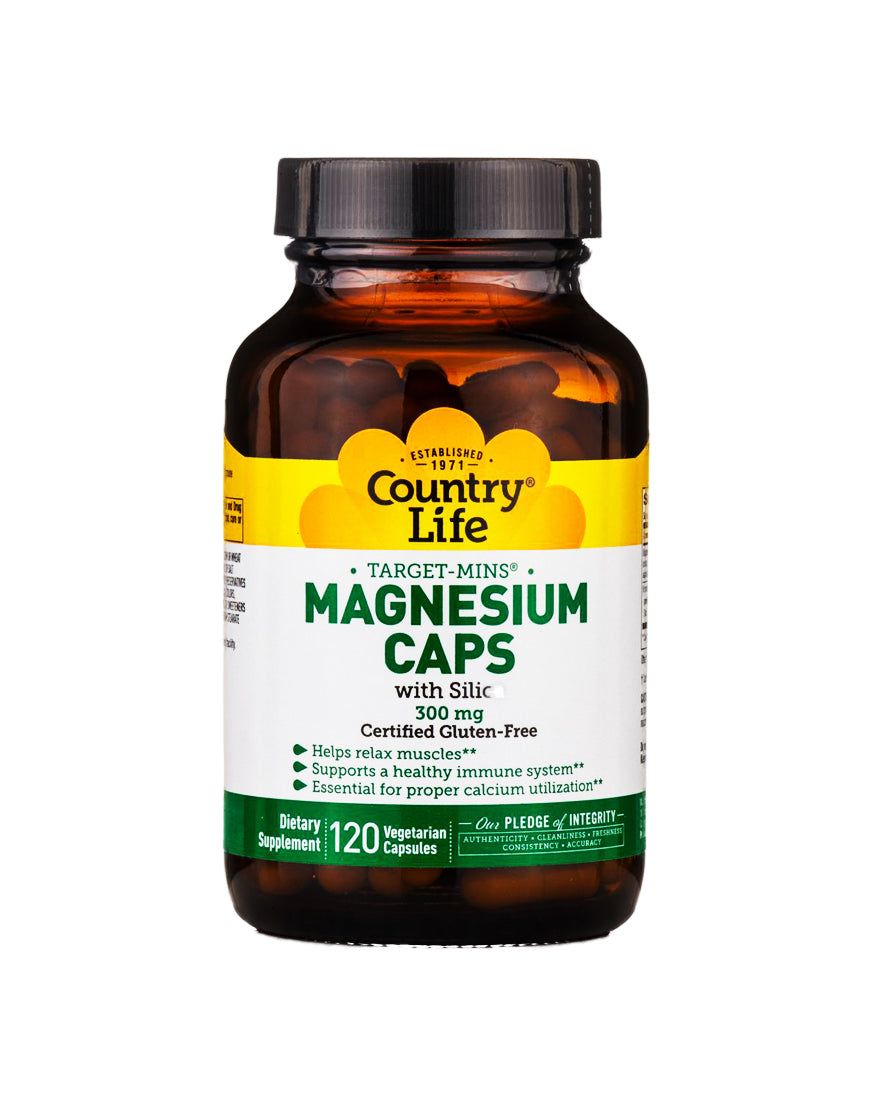 COUNTRY LIFE TARGET MINS MAGNESIUM CAPS (300 MG)