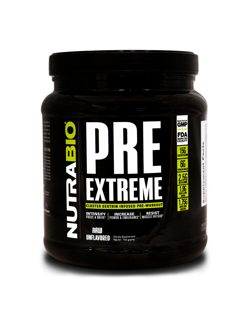 Unflavored - Pre-Workout extreme formula