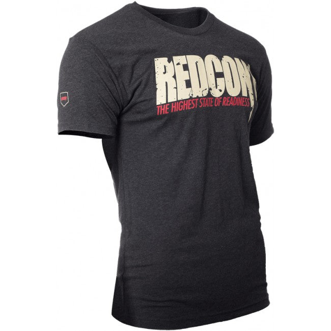 Redcon1 Gold and Red Logo T-shirt