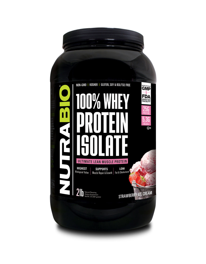 Nutrabio Whey Protein lsolate