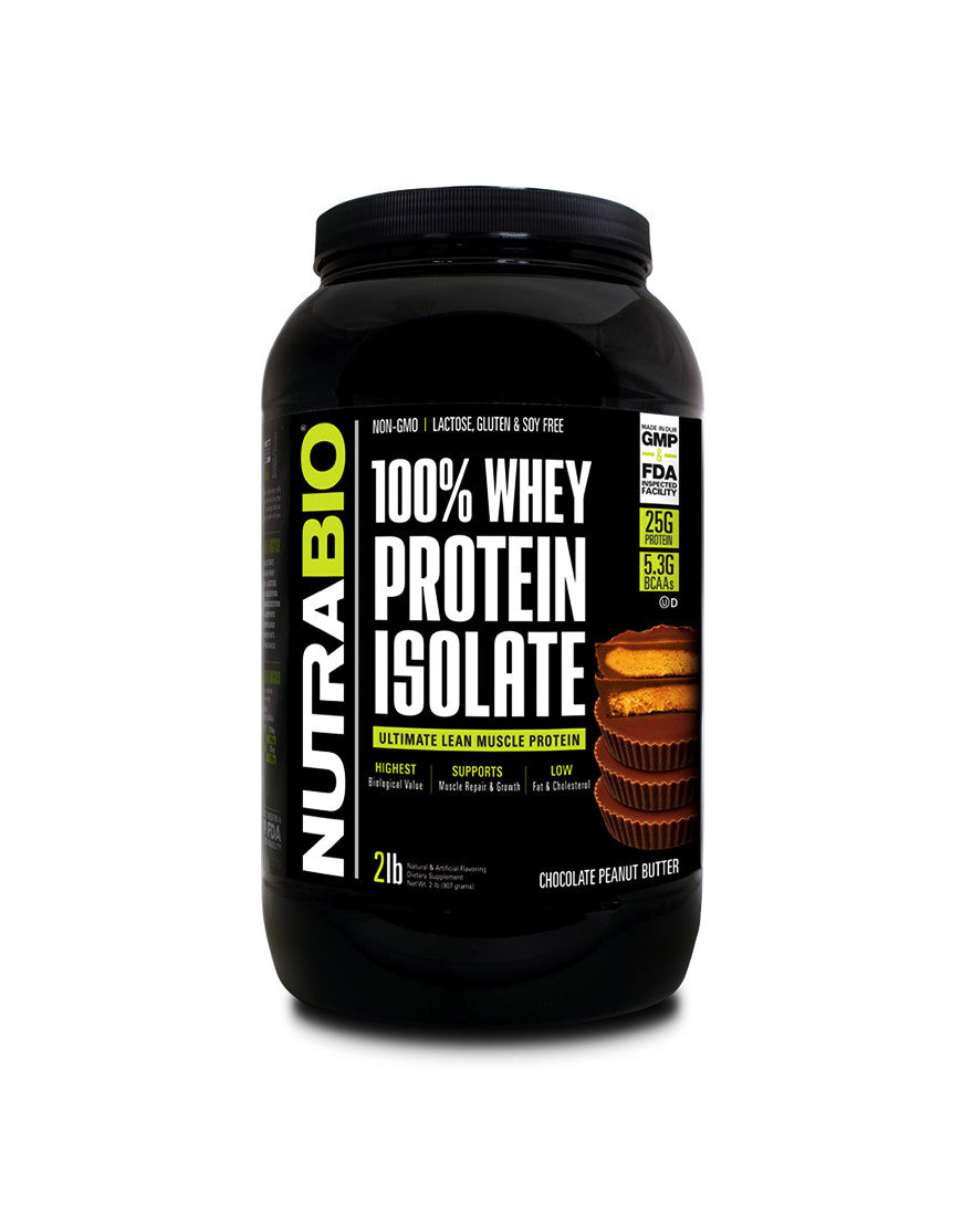 Chocolate Peanut Butter - 100% Whey Protein Isolate