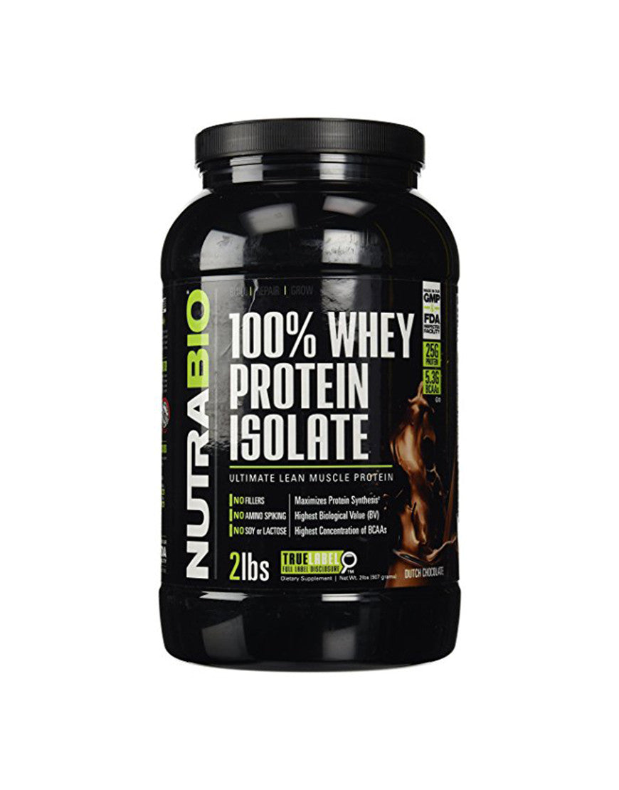 Dutch Chocolate - 100% Whey Protein Isolate