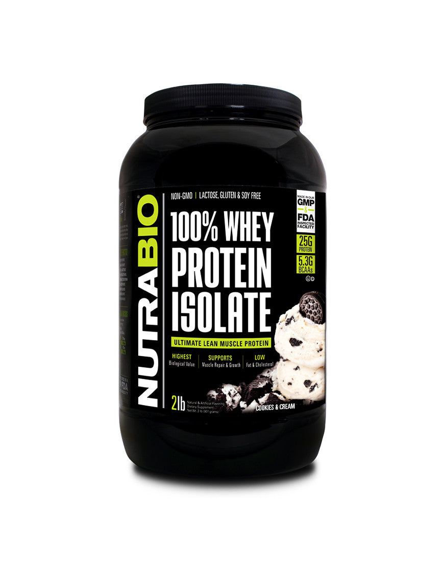 Cookies and Cream - 100% Whey Protein Isolate