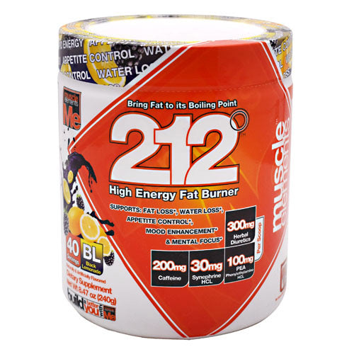 Muscle Elements 212 - Black Lemonade - 40 Servings - 811123022653