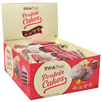 Think Products Protein Cakes - Red Velvet - 9 Packages - 753656714813