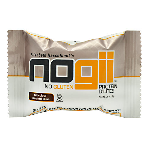 NoGii Protein DLites - Chocolate Caramel Bliss - 198 Bars - 856513002235