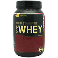 Optimum Nutrition Gold Standard 100% Whey - Banana Cream - 2 lb - 748927029567