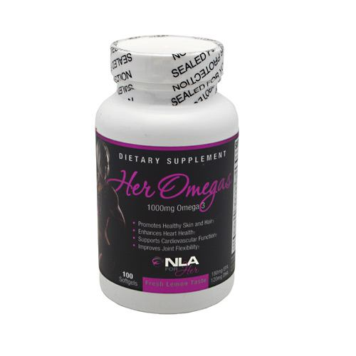 NLA For Her Her Omega - 100 Softgels - 700686322860