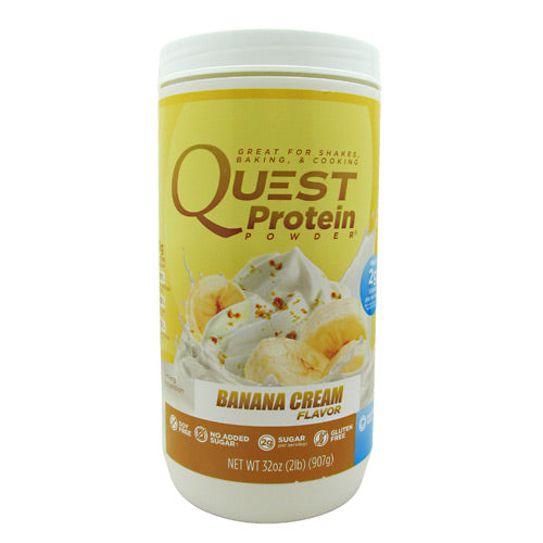Quest Nutrition Quest Protein Powder - Banana Cream - 2 lb - 888849000869
