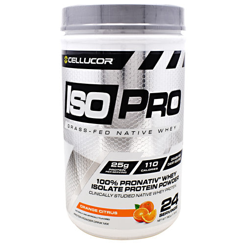Cellucor Iso Pro - Orange Citrus - 24 Servings - 842595103120