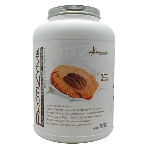 Metabolic Nutrition Protizyme - Butter Pecan Cookie - 5 lb - 764779571894
