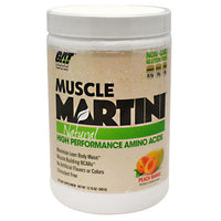GAT Natural Muscle Martini - Peach Mango - 30 Servings - 859613000125