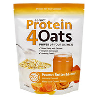 PEScience Select Protein4Oats - Peanut Butter & Honey - 12 Servings - 040232426438