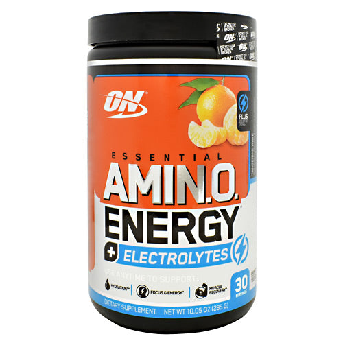 Optimum Nutrition Essential Amino Energy + Electrolytes - Tangerine Wave - 30 Servings - 748927060539