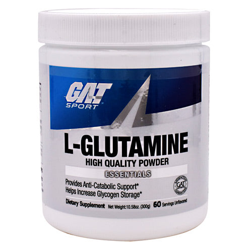 GAT Essentials Series L-Glutamine - Unflavored - 300 g - 816170021680
