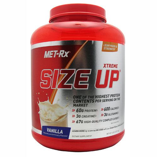 Met-Rx USA Size Up - Vanilla - 6 lb - 786560158237