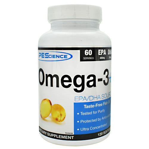 PEScience Omega-3+ - 120 Softgels - 040232426377