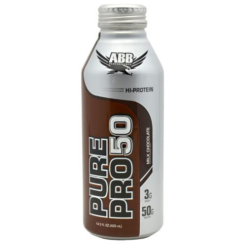 ABB Pure Pro 50 - Milk Chocolate - 12 Cans - 00045529856660